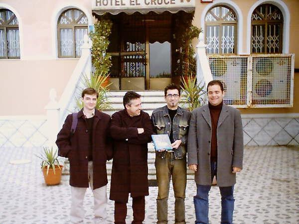 Grupo Aborigen-Premio de Jazz en Granada 2002