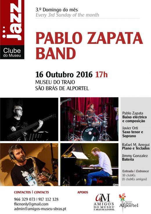 Pablo Zapata Band en São Brás de Alportel